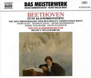 Beethoven: Piano Concertos Nos. 1-5 (complete) Product Image