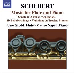 Schubert - Music for Flute and Piano Product Image