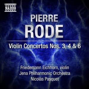 Pierre Rode: Violin Concertos Nos. 3, 4 & 6 Product Image