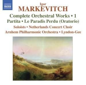 Markevitch - Complete Orchestral Works Volume 1 Product Image