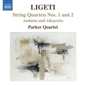 Ligeti - String Quartets Nos. 1 & 2 Product Image