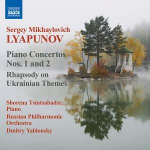 Lyapunov: Piano Concertos Nos. 1 & 2 Product Image