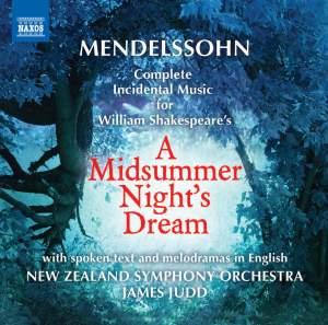 Mendelssohn: A Midsummer Night's Dream - incidental music, Op. 61 Product Image
