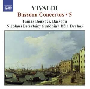 Vivaldi - Complete Bassoon Concertos Volume 5