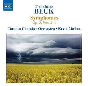 Franz Ignaz Beck - Symphonies Op. 3, Nos. 1-4