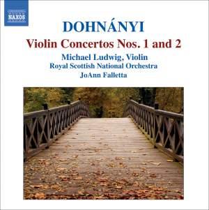 Erno Dohnanyi - Violin Concertos Nos. 1 & 2