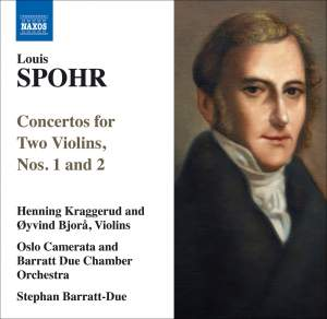 Spohr - Concertos for Two Violins, Nos. 1 and 2 Product Image