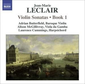 Leclair - Violin Sonatas Volume 1