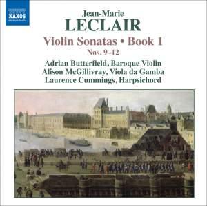 Leclair - Violin Sonatas Volume 3 Product Image