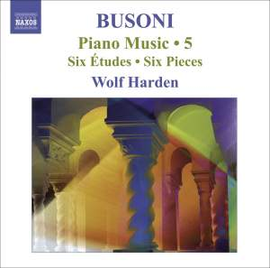 Busoni - Piano Music Volume 5 Product Image