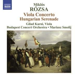 Rozsa - Viola Concerto Product Image