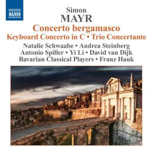 Simon Mayr: Concerto in D minor 'Concerto bergamasco' Product Image