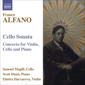 Alfano - Cello Sonata Product Image