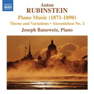 Rubinstein: Piano Music Volume 1 (1871-1890)