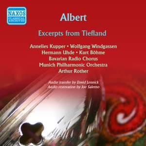 Albert, E: Tiefland: scenes