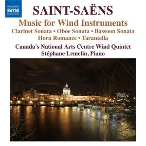 Saint-Saëns: Music for Wind Instruments Product Image