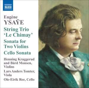 Ysaÿe: String Trio 'Le Chimay' Product Image