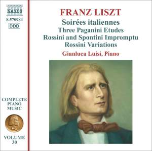 Liszt: Complete Piano Music Volume 30 Product Image