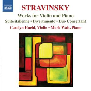 Stravinsky: Works for Violin and Piano Product Image