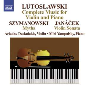 Lutoslawski: Complete Music for Violin and Piano Product Image