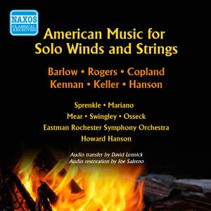 American Music for Solo Winds and Strings