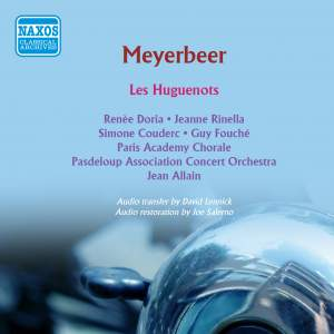 Meyerbeer: Les Huguenots (abridged)