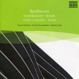 Beethoven: Violin Concerto & Sextet Product Image