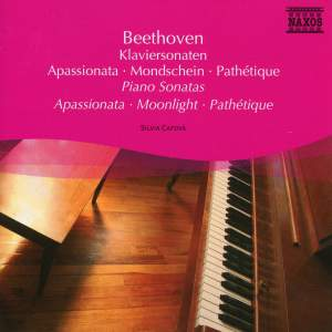 Beethoven: Appassionata, Moonlight & Pathétique Sonatas Product Image
