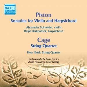 Piston: Sonatina for Violin and Harpsichord