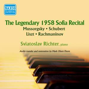 Sviatoslav Richter: The Legendary 1958 Sofia Recital