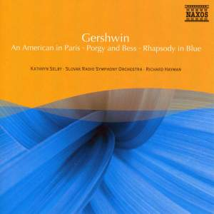 Gershwin: An American in Paris, Porgy and Bess & Rhapsody in Blue Product Image