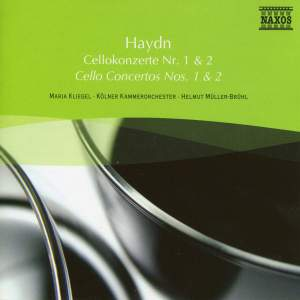 Haydn: Cello Concertos Nos. 1 and 2 & Sinfonia Concertante Product Image