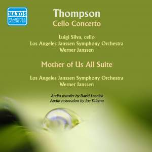 Thomson: Cello Concerto & Mother of Us All Suite