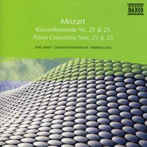 Mozart: Piano Concertos Nos. 21 and 25 Product Image