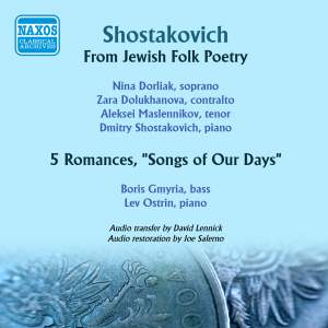 Shostakovich: From Jewish Folk Poetry & Songs of Our Days