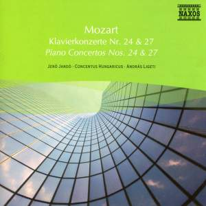 Mozart: Piano Concertos Nos. 24 and 27 Product Image