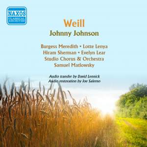Weill, K: Johnny Johnson