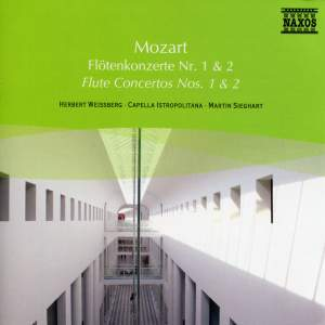 Mozart: Flute Concertos Nos. 1 and 2 Product Image