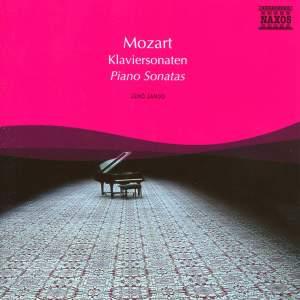 Mozart: Piano Sonatas Nos. 8, 11, 16 and 17 Product Image