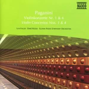 Paganini: Violin Concertos Nos. 1 and 4 Product Image