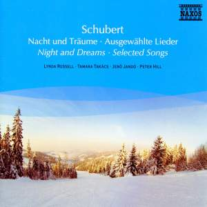 Schubert: Night and Dreams - Selected Songs
