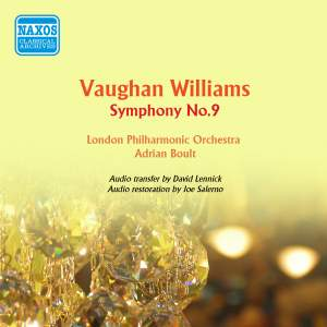Vaughan Williams: Symphony No. 9 in E minor
