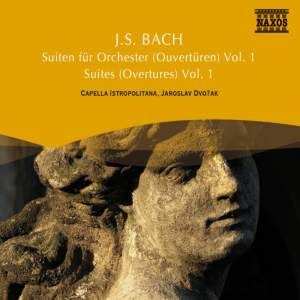 JS Bach: Overtures (Orchestral Suites) Nos. 1, 2 & 5 Product Image
