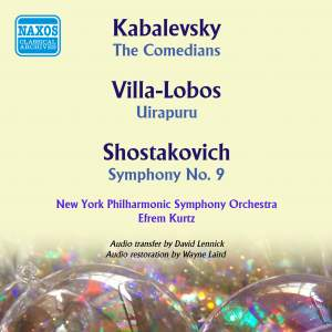 Kabalevsky, Villa-Lobos & Shostakovich: Orchestral Works
