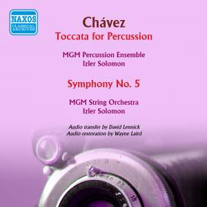 Chávez: Toccata for Percussion & Symphony No. 5
