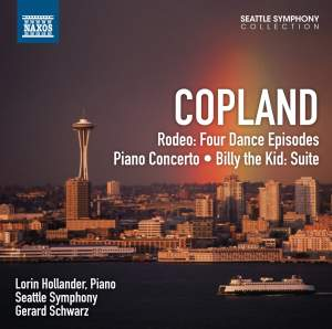 Copland: Rodeo, Piano Concerto & Billy the Kid Suite Product Image