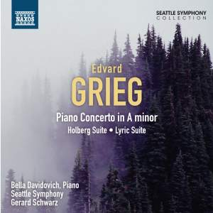 Grieg: Piano Concerto, Holberg Suite & Lyric Suite Product Image