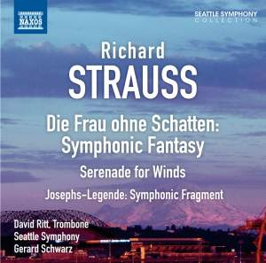 Strauss: Symphonic Fantasy on Die Frau ohne Schatten Product Image