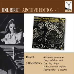 Idil Biret Archive Edition Volume 1 - Stravinsky & Ravel Product Image