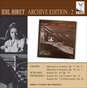 Idil Biret Archive Edition Volume 2 - Prokofiev, Chopin & Scriabin
